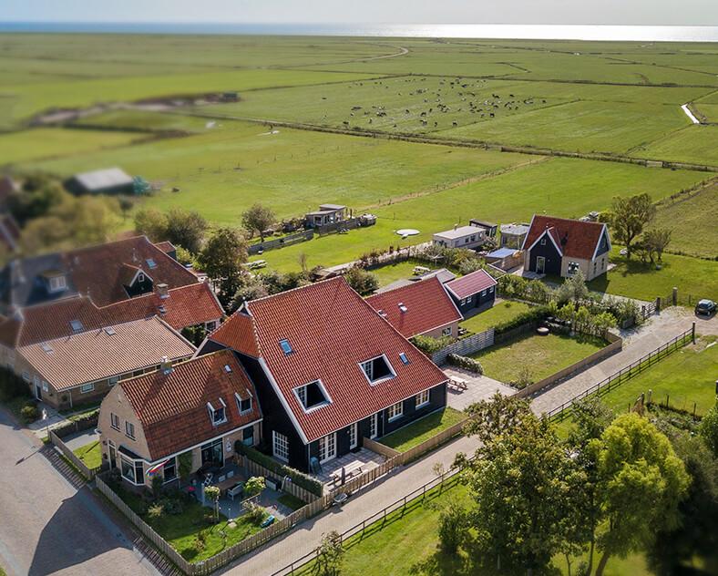 ligging Stiel villa Terschelling