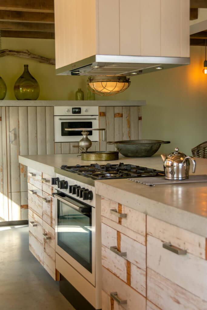 koken Terschelling - vakantiehuis met kookeiland